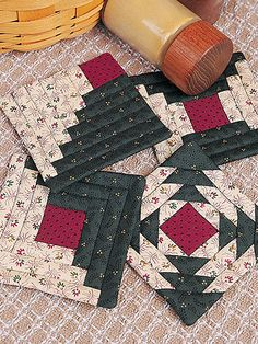 Quick-to-Quilt Coasters & Bonus Quilted Coasters