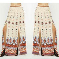 Sway this way  Cara Maxi Skirt