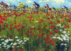 PAINTING LE TOUR: Tour de France 2016