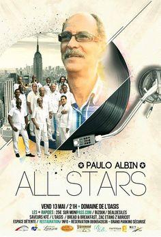 All Stars Paulo ALBIN Vous aussi intégrez vos événements dans l'Agenda des Sorties de www.bellemartinique.com C'est GRATUIT !  #martinique #Antilles #domtom #outremer #concert #agenda #sortie #soiree
