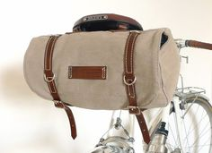 Classic Vintage Style Bicycle Bag - Snootsie on Etsy