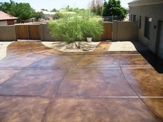 Concrete Driveways Arizona Creative Coatings Phoenix, AZ Stained Concrete  Driveway, Concrete Driveways, Concrete