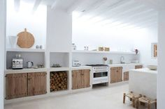 Cool Impressive home in Ibiza with modern country design, designed by Blakstad. The post Impressive home in Ibiza with modern country design, designed by Blakstad…. appeared first on Decor Designs . Home Decor Kitchen, Rustic Kitchen, Interior Design Kitchen, Home Kitchens, Kitchen Furniture, Kitchen Modern, Kitchen White, Interior Modern, Furniture Design