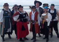 Be sure to come to the Pirate Invasion #inBeaufort to meet the East Coast Pirates!