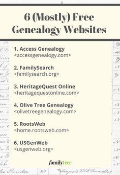 Free Genealogy Sites, Genealogy Research, Family Genealogy, Genealogy Quotes, Family Tree Research, Family Tree Chart, Got Family Tree, Family Trees, History Websites