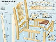 Resultado de imagen de wingback chair plans