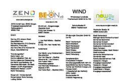 """Die neuen """"Energiekonzerne"""" der Nordoberpfalz - Eine Übersicht von Thea[tm] in DEEZ 10.2012 (www.scribd.com/zach5618)"""