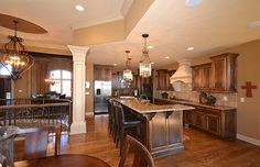 Designed for Living - traditional - kitchen - kansas city - Surface to Surface Interior Design/Construction