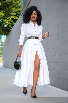 Elegant Shirt Dress Outfit Ideas For Spring And Summer - Sonstiges - Hemd Mode Outfits, Dress Outfits, Casual Dresses, Dress Up, Fashion Outfits, Maxi Dresses, Wedding Dresses, Dress Fashion, Summer Dresses