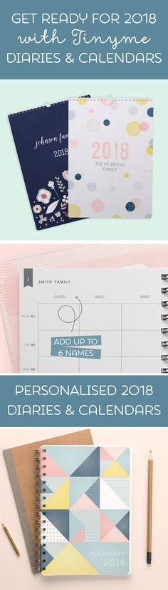 Get organised for 2018 with tinyme!