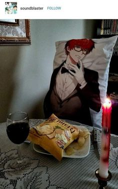 Just add some cats in the background and You will get an image of how my Valentine's Day will look like this year...