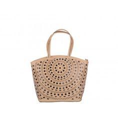 Poseta Epica bej, din piele ecologica Summer Essentials, Straw Bag, Bags, Fashion, Handbags, Moda, Fashion Styles, Fashion Illustrations, Bag