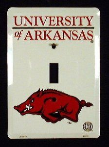 Pride Plates Arkansas Razorbacks Light Switch Cover (Single) Pride Plates Arkansas Razorbacks Light . $9.99