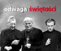 Kardynał Stefan Wyszyński, Święty Jan Paweł II i Ksiądz Jerzy Popiełuszko. Odwaga świętości St John Paul Ii, I Really Love You, Love Of My Life, Einstein, Catholic, Best Friends, I Am Awesome, Father, Sayings
