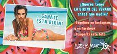 GANATE ESTA BIKINI  ¿Querés ser la primera en tener LA BIKINI DEL VERANO?  ► Seguinos en Instagram http://instagram.com/luzdemaroficial ► Dale Me Gusta a nuestro Facebook https://www.facebook.com/luzdemaroficial ► Compartí esta foto  Y ya estás participando en el sorteo por el traje de baño de la foto  Sortea el viernes 10 de octubre  #concurso #LuzdeMar2015 #bikini #verano #queremosverano #sandia #moda #loqueseviene