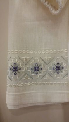 This Pin was discovered by Neş Embroidery Designs, Hardanger Embroidery, Types Of Embroidery, Embroidery Needles, Ribbon Embroidery, Floral Embroidery, Cross Stitch Embroidery, Cross Stitch Patterns, Xmas Cross Stitch