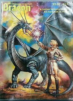 Dragon magazine #53 AD&D module  D&D TSR rpg