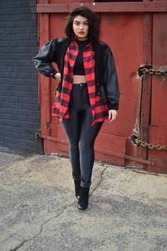 Nadia A. - Two Ways to Style Plaid