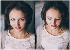 образ невесты зимой #wedding #bride