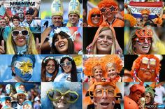 #WorldCup semi-finals today: Argentina vs Netherlands #ARG #NED at Corinthians Arena in Sao Paulo #Brazil #AFP