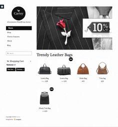 Cartsy WordPress eCommerce Theme & Free WooCommerce Plugin