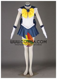Costume Detail Sailormoon Sailor Uranus Haruka Tenoh Cosplay Costume Set Includes - Dress, Sleeves, Legging, Choker, Headband, Front/Back Bow Tie We may have selected store sizes for this costume, rea