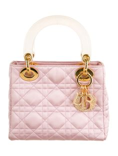 Christian Dior Mini Lady Dior Handle Bag Pink Handbags 1b39167d1b2d7