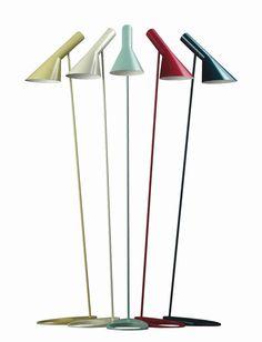 AJ Stehleuchte von Arne Jacobsen, 1960 - Designermöbel von smow.de