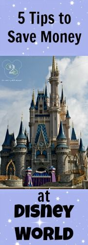 Here are 5 tips to save money at Disney World. What tips do you have?