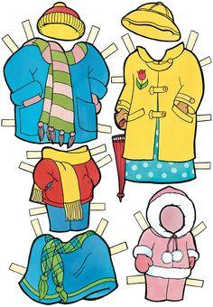 berenstain bears paper dolls costumes3