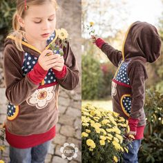 raxn: Ein Hoodie im Blumenmeer - Herbststimmung, wie ich...