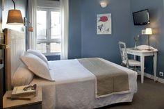 Hotel DE LA PAIX MONTPARNASSE (PARIS) Bedroom