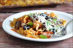 Easy Pizza Noodle Casserole
