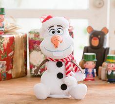 Christmas-themed Olaf at Tokyo Disney Resort