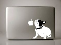 Bella the French Bulldog Decal Macbook Apple Laptop by IvyBee, $15.99