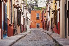 San Miguel de Allende. Central Mexico.