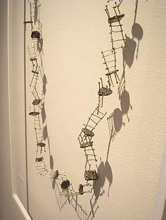Liisa Hashimoto, 30 Chairs Necklace