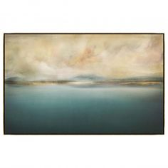 The Calm Before The Storm Framed - Blue Horizon - Living Room - Room Ideas