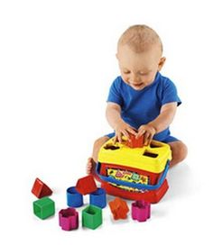 Fisher-Price Brilliant Basics Baby's First Blocks just $8.00, Free Shipping Eligible