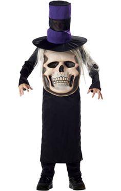 Child Skull Mad Hatter Costume   Jokers Masquerade