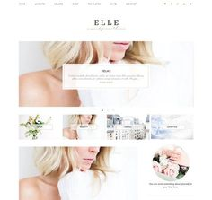 Elle - Wordpress Theme by Eclair Designs on @creativemarket