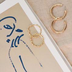 favourites ✨ // tap to shop the mini selena hoops & jenny hoops #styleaddict