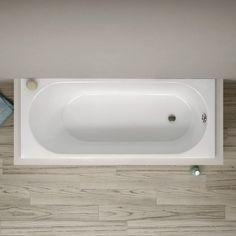 Baignoire rectangulaire, 170x70 cm, acrylique, Kasandra