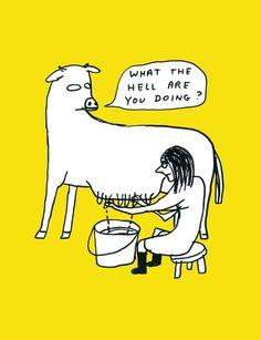 Existential Art of David Shrigley