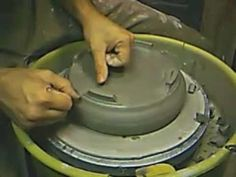 ▶ Pottery Pod: How to make a Bonsai pot - YouTube