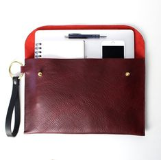 Last chance to get this leather clutch. I can only make one more of these with the leather I still have in stock.  This large leather clutch is part of my O-Series. Minimal design for a timeless and sleek look.  Perfect fit for a laptop, notepad and other essentials so you can get to Leather Clutch, Tan Leather, Sleek Look, Minimal Design, Hand Stitching, Perfect Fit, Essentials, Laptop, Etsy