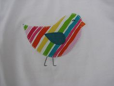 Applique Pattern -Caught up in Stitches- The Pattern Hutch Pigeon