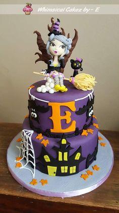 Little which Halloween cake