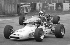 (2) Dieter Quester - BMW 269 - Bayerische Motoren Werke - (24) Peter Gaydon - Merlyn Mk 12 Cosworth FVA - Bob Gerard - IV Rhein-Pokalrennen 1969