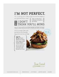 True Food Kitchen Ad by TUNNELBRAVO. True Food Kitchens everywhere…even DENVER!